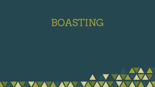 Boasting