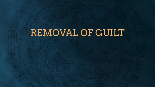 Removal of guilt