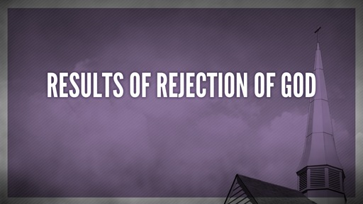 Results of rejection of God