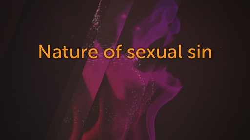 Nature of sexual sin