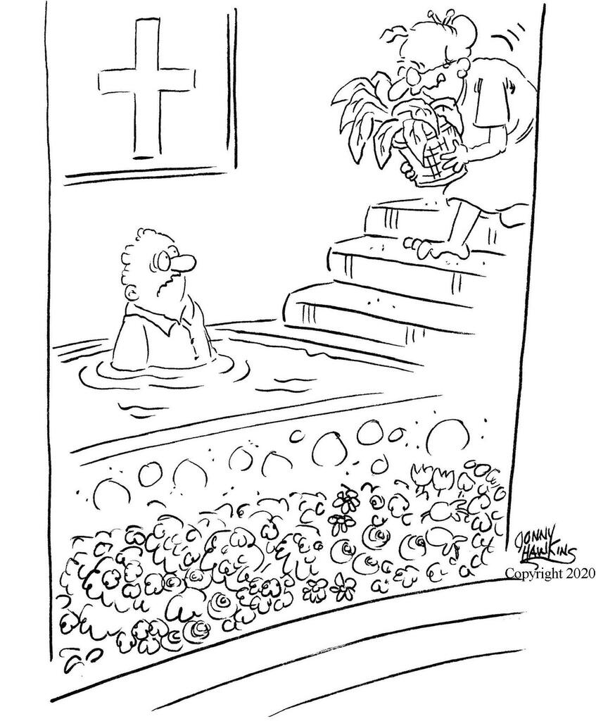Plant Baptism large preview