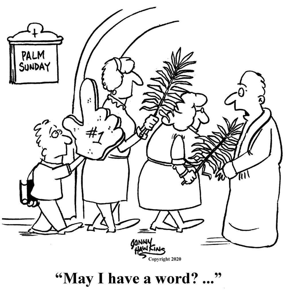 Palm Sunday large preview