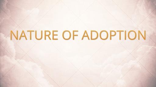 Nature of adoption
