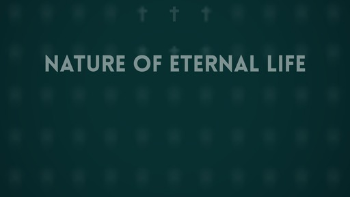 Nature of eternal life