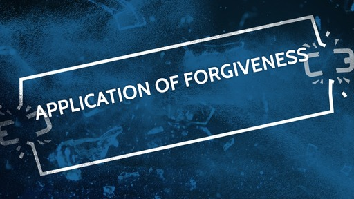 Application of forgiveness
