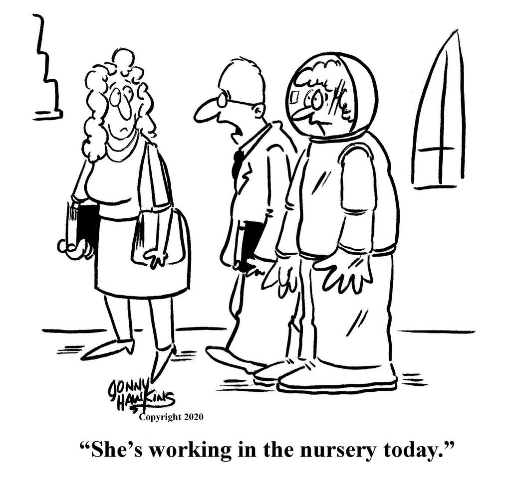 Nursery Worker large preview