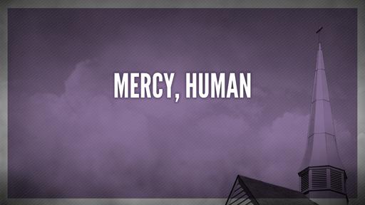 Mercy, human