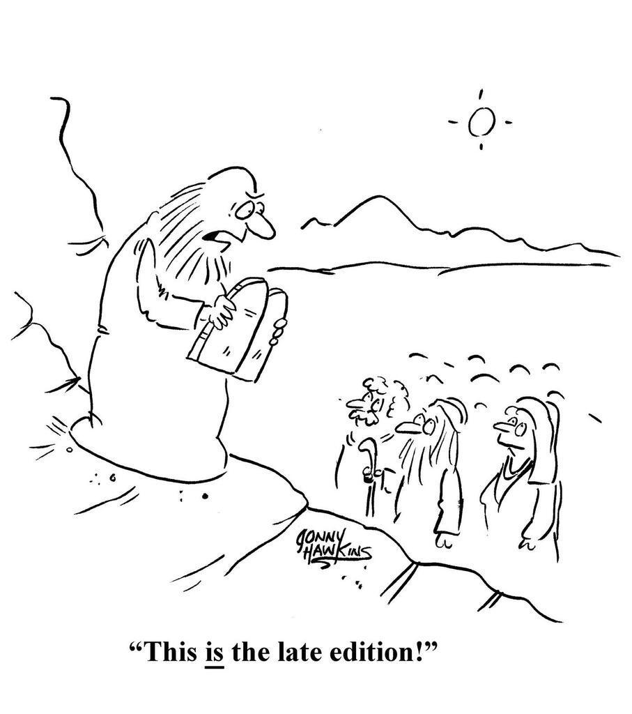Moses Commandments large preview