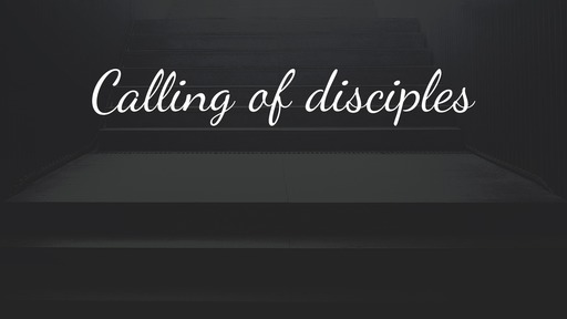 Calling of disciples