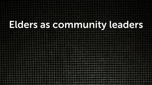 Elders as community leaders