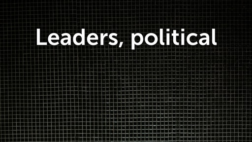 Leaders, political