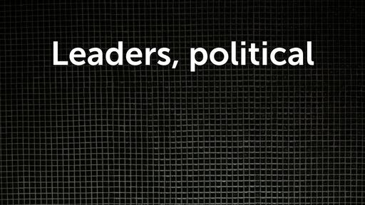 Leaders, political