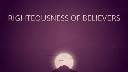 Righteousness of believers
