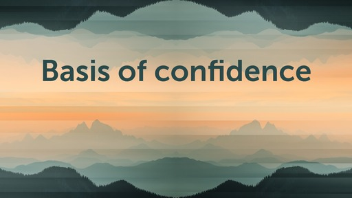 Basis of confidence