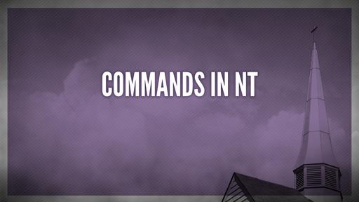 Commands in NT