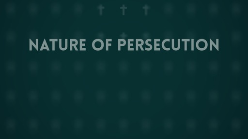 Nature of persecution