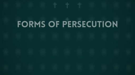 Forms of persecution