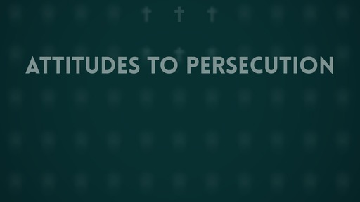 Attitudes to persecution