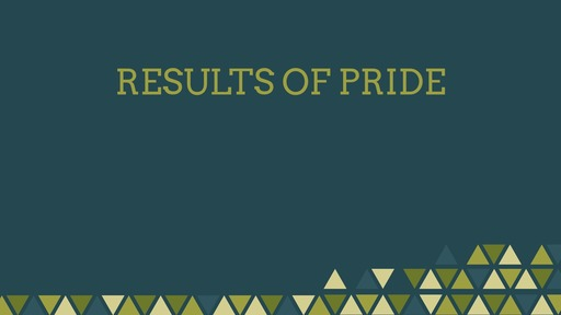 Results of pride