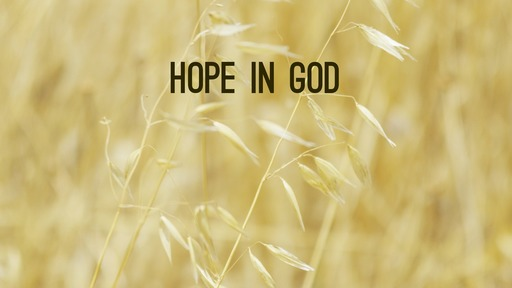 Hope in God