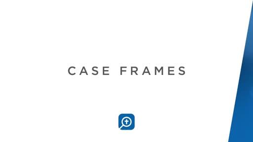 Case Frames