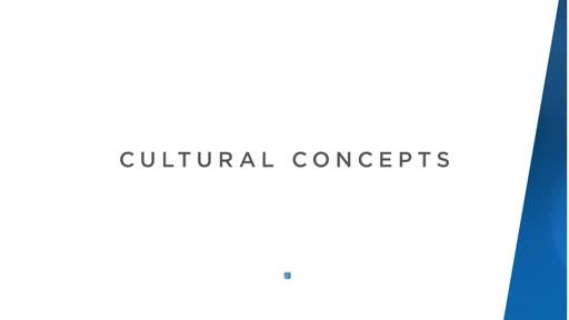 Cultural Concepts