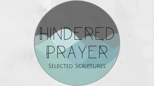 Hindered Prayer