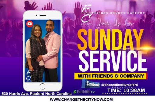 Live Stream for Friends Church