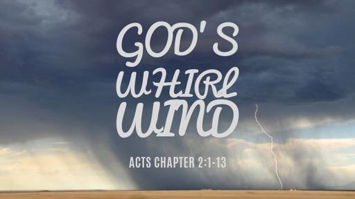 God's whirlwind