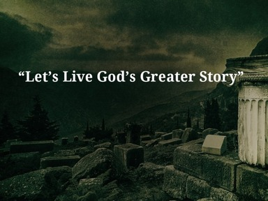 """09.06.2020 SER """"Let's Live God's Greater Story"""""""