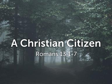 A Christian Citizen 09/06/20