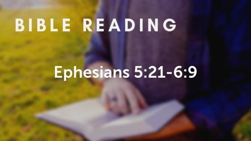 Ephesians 5.21-6.9