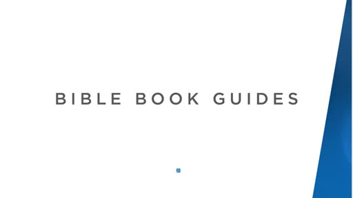 Bible Book Guides