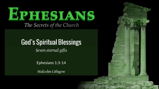 God's Spiritual Blessings