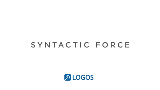 Syntactic Force Dataset