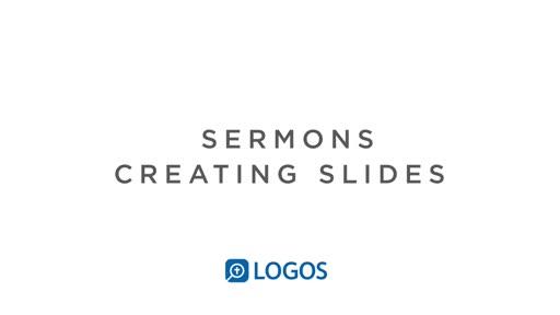 Sermon Editor Slides