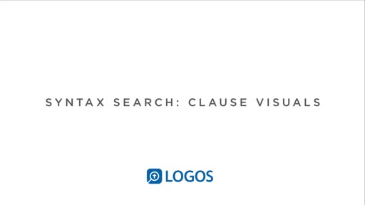 Syntax Search Part 3: Clause Visuals