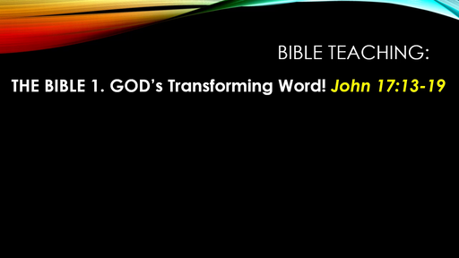 God's Transforming Word