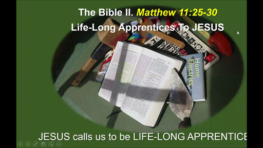 Life-Long Apprentices to Jesus