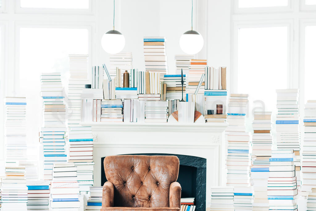 A Living Room Full of Books large preview