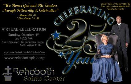 25th Anniversary Service