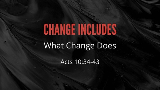 Change Includes
