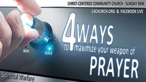 Spiritual Warfare, Prayer, Sunday September 6, 2020