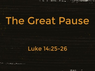 The Great Pause