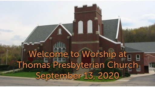 TPC Sunday Worship Service September 13, 2020