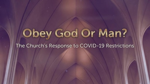 Obey God or Man?