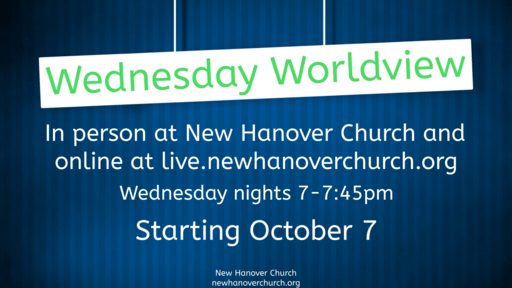 Wednesday Worldview NEW