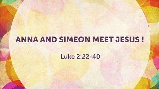 Simeon and Anna Meet Jesus
