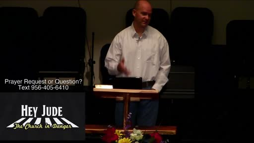 The Church in Danger Benjamin Karner / General Hey Jude / Apostasy; Judgment; Faith; Fight of Faith / Jude 1–4
