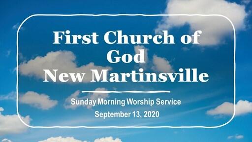 Sunday Morning Worship - 9-13-20